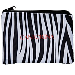 View a larger, more detailed picture of the Fashion Pouch - Zebra