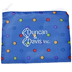 View a larger, more detailed picture of the Fashion Pouch - Polka Dots