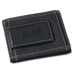 View a larger, more detailed picture of the Leather Wallet w Money Clip