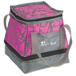 View a larger, more detailed picture of the Paint Splatter Lunch Bag Cooler - Closeout