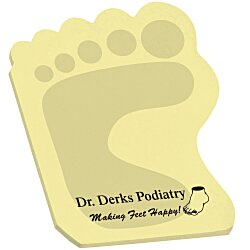 View a larger, more detailed picture of the Post-it&reg Custom Notes - Foot - 25 Sheet - Stock Design