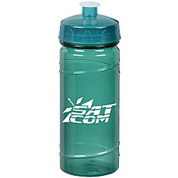 View a larger, more detailed picture of the PolySure Cyclone Sport Bottle - 16 oz - Translucent