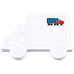 View a larger, more detailed picture of the Bic Sticky Note - Truck - 50 Sheet - Stock Design