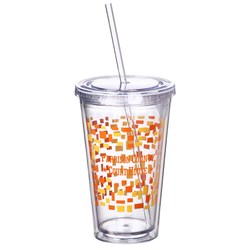 View a larger, more detailed picture of the Spirit Incore Tumbler - 16 oz - Torn Paper
