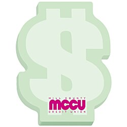 View a larger, more detailed picture of the Bic Sticky Note Dollar Sign 100 Sheet - Stock Design