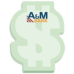 View a larger, more detailed picture of the Bic Sticky Note Dollar Sign 25 Sheet - Stock Design