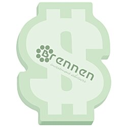 View a larger, more detailed picture of the Bic Sticky Note Dollar Sign 50 Sheet - Stock Design