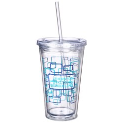 View a larger, more detailed picture of the Spirit Incore Tumbler - 16 oz - Squarval