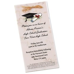 View a larger, more detailed picture of the Seeded Invitation Program - 9 x 4 - Marigold