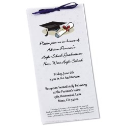 View a larger, more detailed picture of the Seeded Invitation Program - 9 x 4 - Wildflower