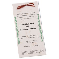 View a larger, more detailed picture of the Seeded Invitation Program - 9 x 4 - Carrot