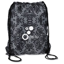 View a larger, more detailed picture of the Designer Drawcord Sportpack - Black Lace