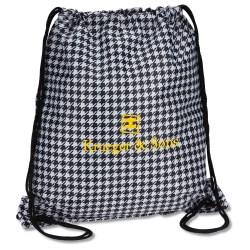 View a larger, more detailed picture of the Designer Drawcord Sportpack - Houndstooth