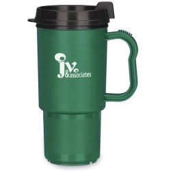 View a larger, more detailed picture of the Koozie Travel Mug - 16 oz - Closeout