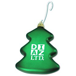 View a larger, more detailed picture of the Shatterproof Ornament - Tree - 24 hr