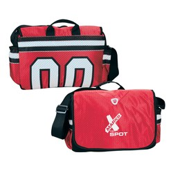 View a larger, more detailed picture of the Our Team Jersey Messenger - Closeout