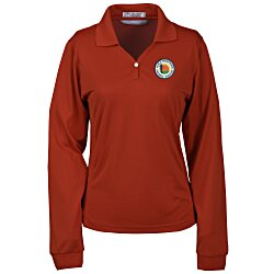 View a larger, more detailed picture of the Eclipse Long Sleeve Sport Shirt - Ladies