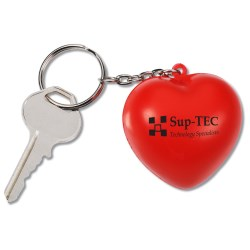 View a larger, more detailed picture of the Squishy Key Tag - Heart