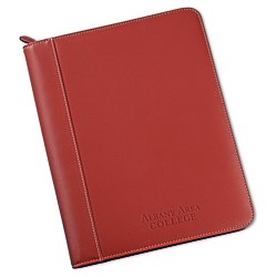 View a larger, more detailed picture of the Lamis Zippered Padfolio