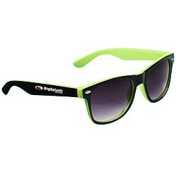 View a larger, more detailed picture of the Risky Business Sunglasses - Two Tone