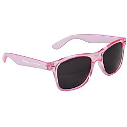 View a larger, more detailed picture of the Risky Business Sunglasses - Translucent