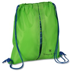 View a larger, more detailed picture of the Peekaboo Print Sportpack - Squares - Closeout
