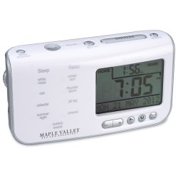 View a larger, more detailed picture of the Brookstone Tranquil Moments Clock