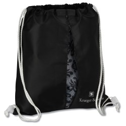 View a larger, more detailed picture of the Peekaboo Print Sportpack - Black Lace