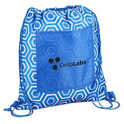 View a larger, more detailed picture of the Printed Insulated Sportpack - Hexagon