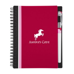 View a larger, more detailed picture of the Side Stripe Notebook w Gel Pen