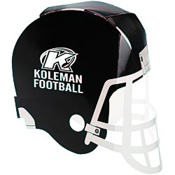 View a larger, more detailed picture of the Paper Football Helmet