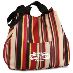View a larger, more detailed picture of the Samantha Fashion Club Tote - Closeout
