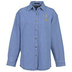 View a larger, more detailed picture of the Ultra Club Denim Shirt - Ladies