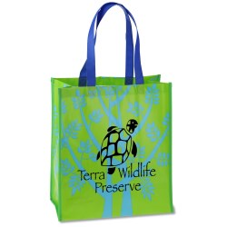 View a larger, more detailed picture of the Laminate Design Tote - Closeout