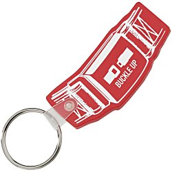 View a larger, more detailed picture of the Safety Belt Soft Key Tag