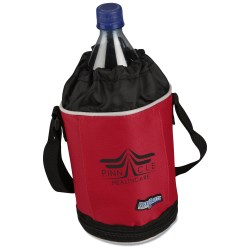 View a larger, more detailed picture of the Flexi-Freeze Drawstring Bottle Cooler - Closeout