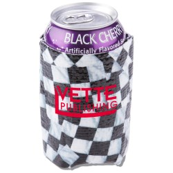 View a larger, more detailed picture of the PhotoGraFX Can Holder - Checker Flags - Closeout