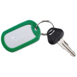 View a larger, more detailed picture of the Dog Tag Key Tag - Closeout