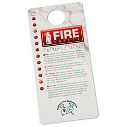 View a larger, more detailed picture of the Fire Safety Hang Tag