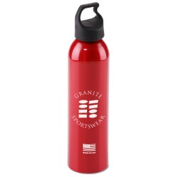 View a larger, more detailed picture of the USA Made Aluminum Sport Bottle - 24 oz