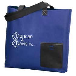 View a larger, more detailed picture of the Pocket Protector Tote - Closeout