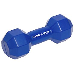 View a larger, more detailed picture of the Dumbbell Stress Reliever - 24 hr