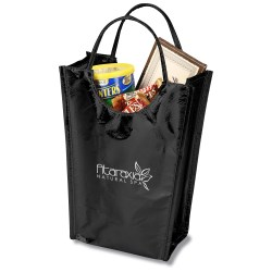 View a larger, more detailed picture of the Metallic Gift Tote - Large - Closeout