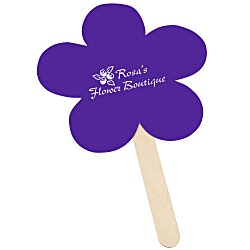 View a larger, more detailed picture of the Mini Hand Fan - Flower