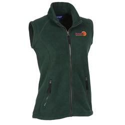 View a larger, more detailed picture of the Katahdin Tek Fleece Vest - Ladies - 24 hr