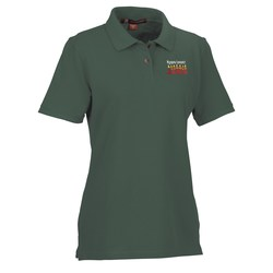 View a larger, more detailed picture of the Harriton 6 oz Ringspun Cotton Pique Polo - Ladies - 24 hr