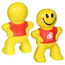 View a larger, more detailed picture of the Captain Smiley Stress Reliever - 24 hr