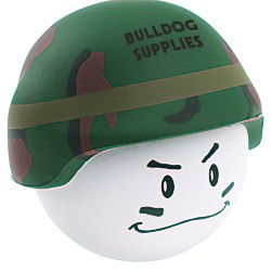View a larger, more detailed picture of the Soldier Mad Cap Stress Reliever - 24 hr