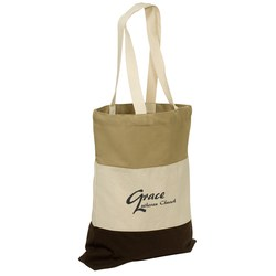 View a larger, more detailed picture of the Walkabout Cotton Tote - Closeout