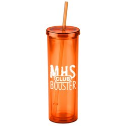 View a larger, more detailed picture of the Montara Spirit Tumbler w Straw - 16 oz - Closeout